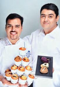 Tushar et Gaurav Dhingra, directeurs de Defence Bakery