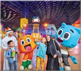 Be a part of world's largest indoor theme park