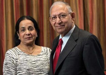 University of Houston renames building after Indian-American couple