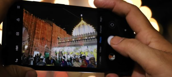 Although clicking pictures is permitted in the dargah, taking snaps of women is prohibited