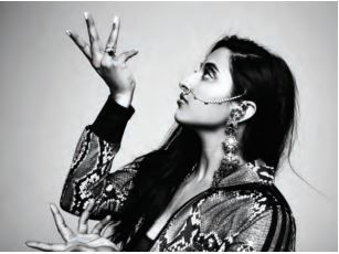 Hip-hop artist Raja Kumari has a degree in Asian religions and is a trained Indian classical dancer