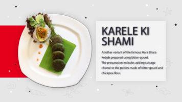 Karele Ki Shaami | Recipe Guide in English | Metropolitan Hotel, Delhi