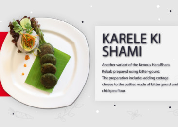 Karele Ki Shaami | Recipe Guide in English | Metropolitan Hotel, Delhi