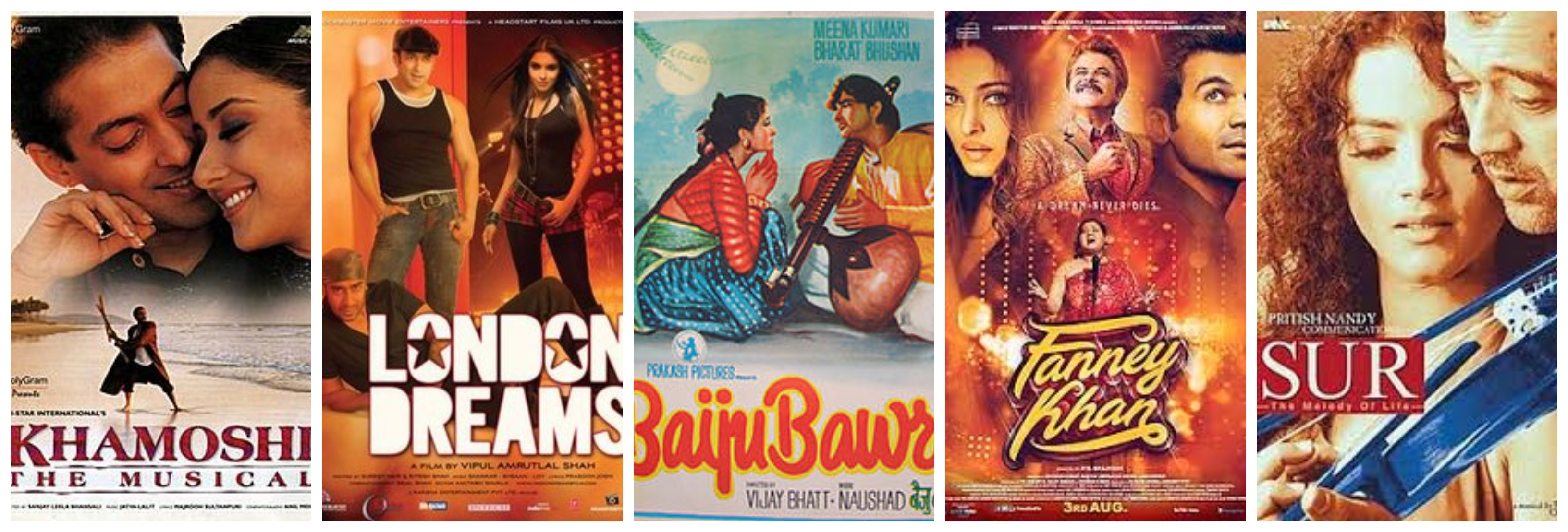 Music-based Bollywood movies