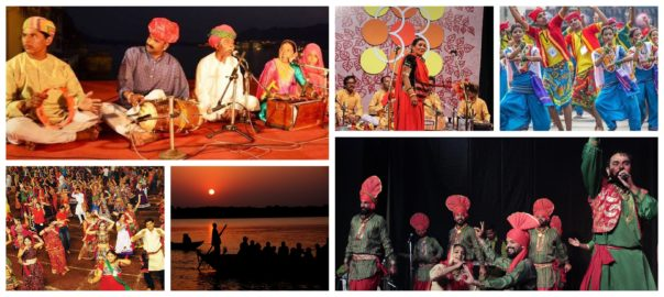 Different forms of folk music of India