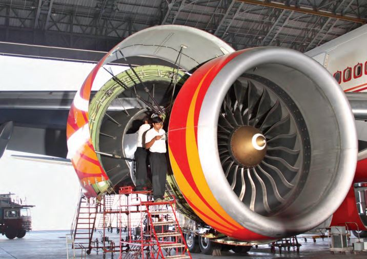 Currently, the MRO sector in India has a handful of players, present only in few airports