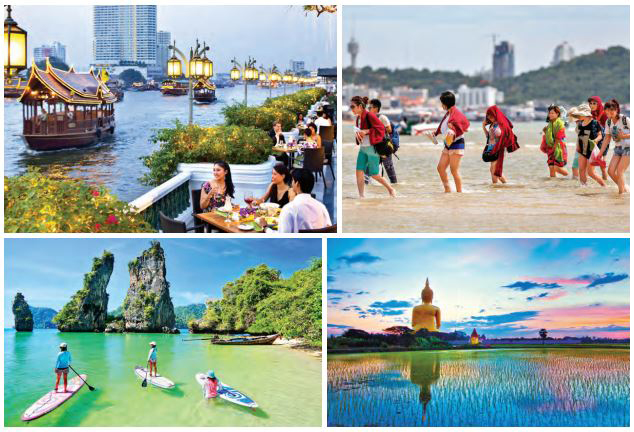 Bangkok is also gateway to other offbeat destinations of Thailand