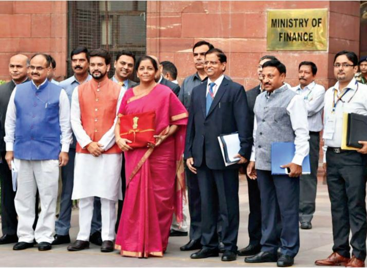 Nirmala Sitharaman who became the first full time woman finance minister of India presented her maiden budget on July 5