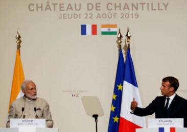 Modi-Macron meet