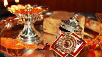 Threads of the ancient Hindu festival Raksha Bandhan