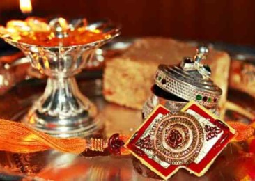 Threads of the ancient Hindu festival Raksha Bandhan