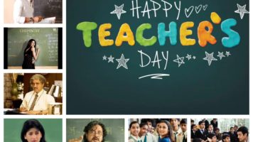 Teachers on-screen
