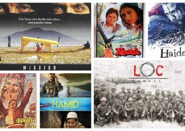 Kashmir on the silver screen