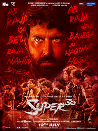 This biographical film showed how the Super 30 educational programme began