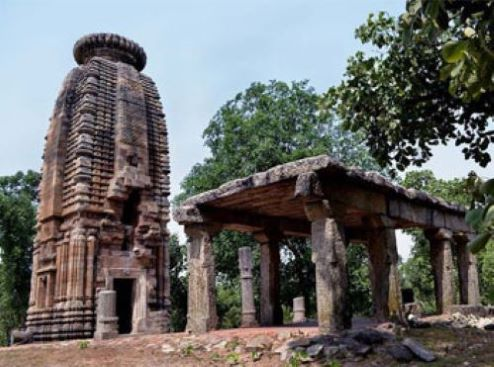 Banda deul with the intricate architecture