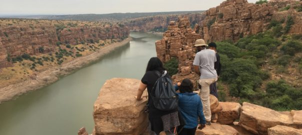 Gandikota ou le Grand Canyon de l'Inde