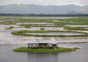 Loktak lake: the floating wonder in Manipur