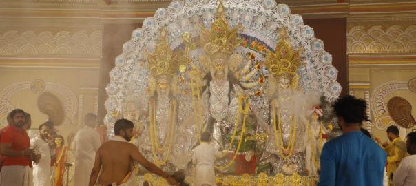 Prayer ceremonies organised during Durga Puja
