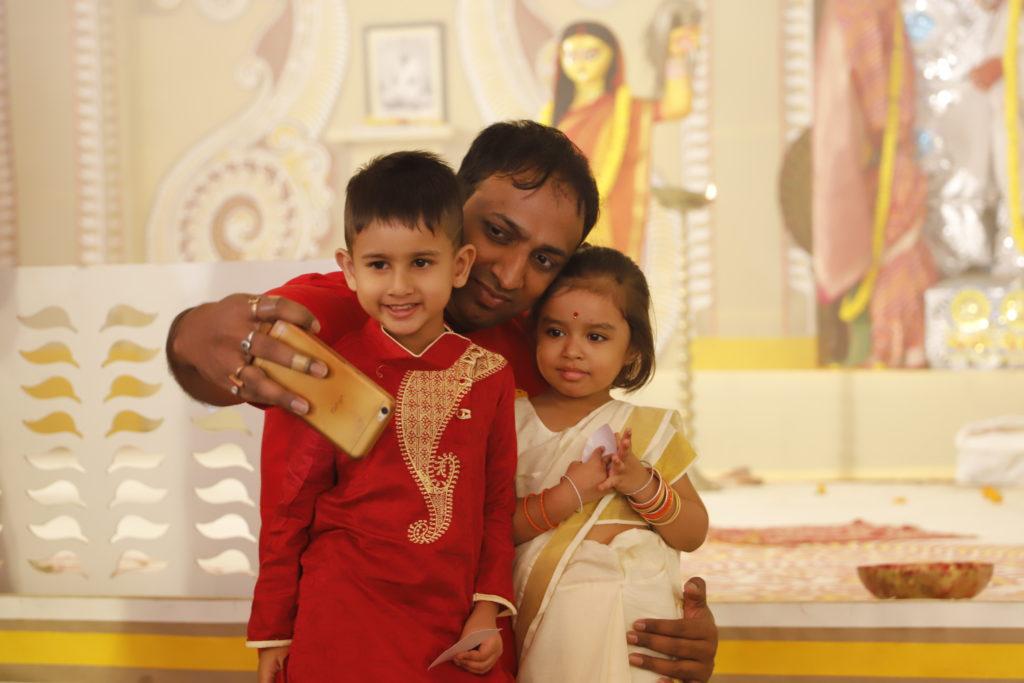 Durga Puja celebrate