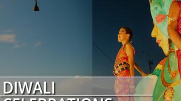 Diwali celebrations in Reunion Island