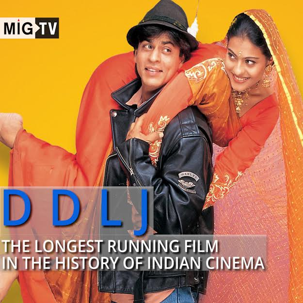 DDLJ – The longest running film in the history of Indian Cinema