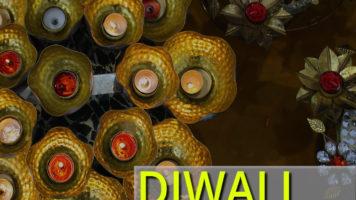 Diwali Indian markets