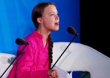 Greta Thunberg and her band of youth