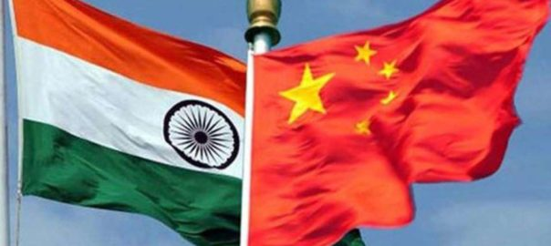 india-china-flags