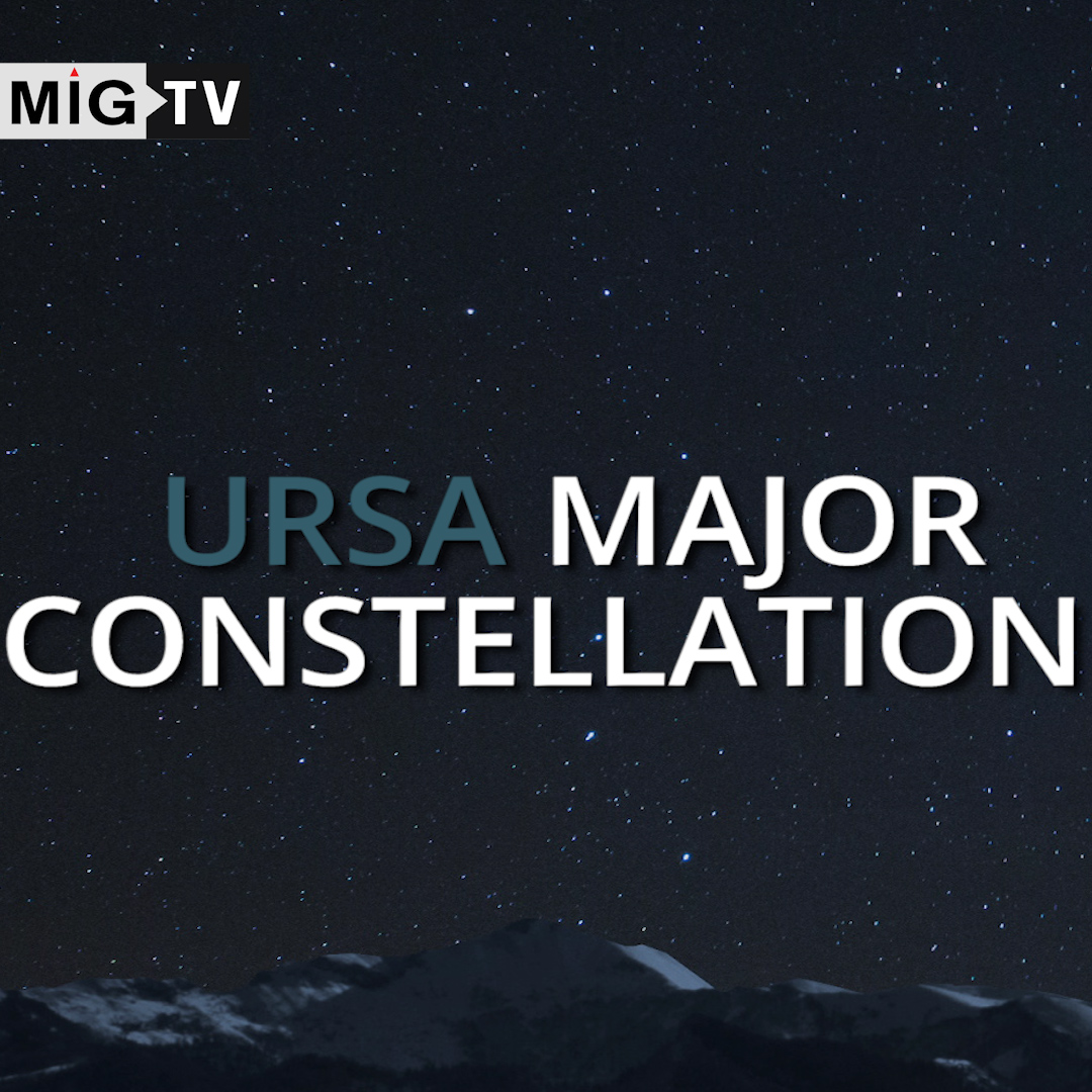 Ursa Major- the bear shaped constellation