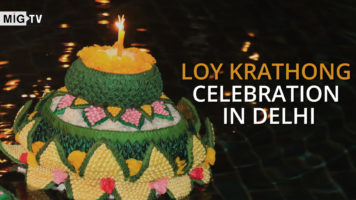 Loy Krathong celebration in Delhi | Thailand