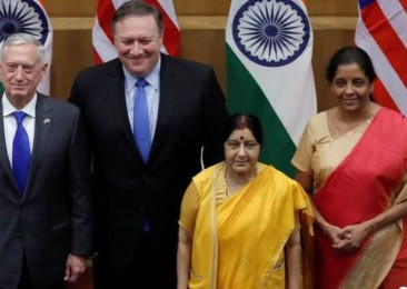 India, US preparing 2+2 Dialogue next month