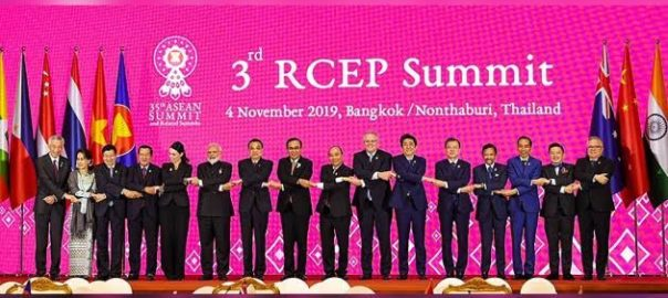 PM Modi conveyed India's decision not to join the China-backed RCEP deal at a summit meeting of the 16-nation bloc