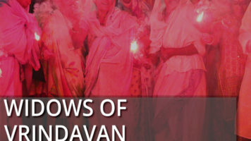Diwali celebrations of Vrindavan's widows