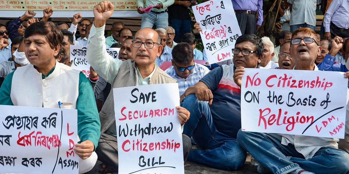 Protests in Assam
