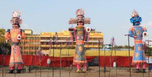 Ramlila effigies