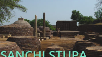 Sanchi Stupa, the oldest stone structure in India!