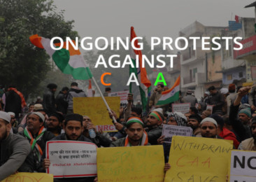 CAA protests ongoing in India