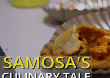 Samosa's culinary tale!