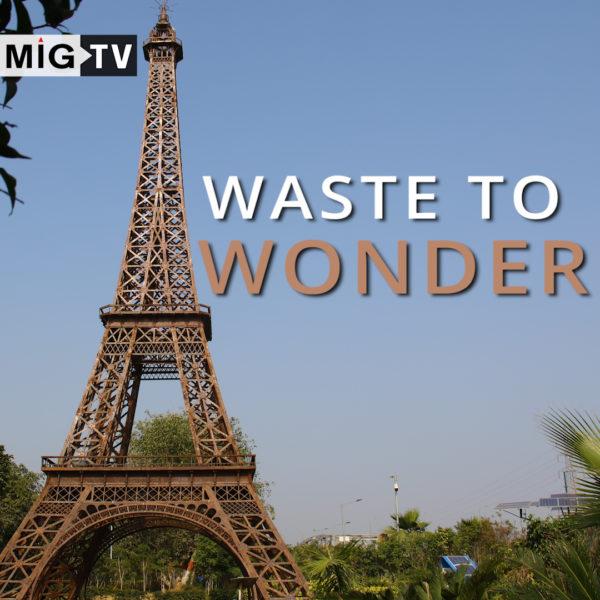 Waste to wonder, theme park made of waste!
