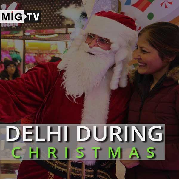 Delhi during Christmas