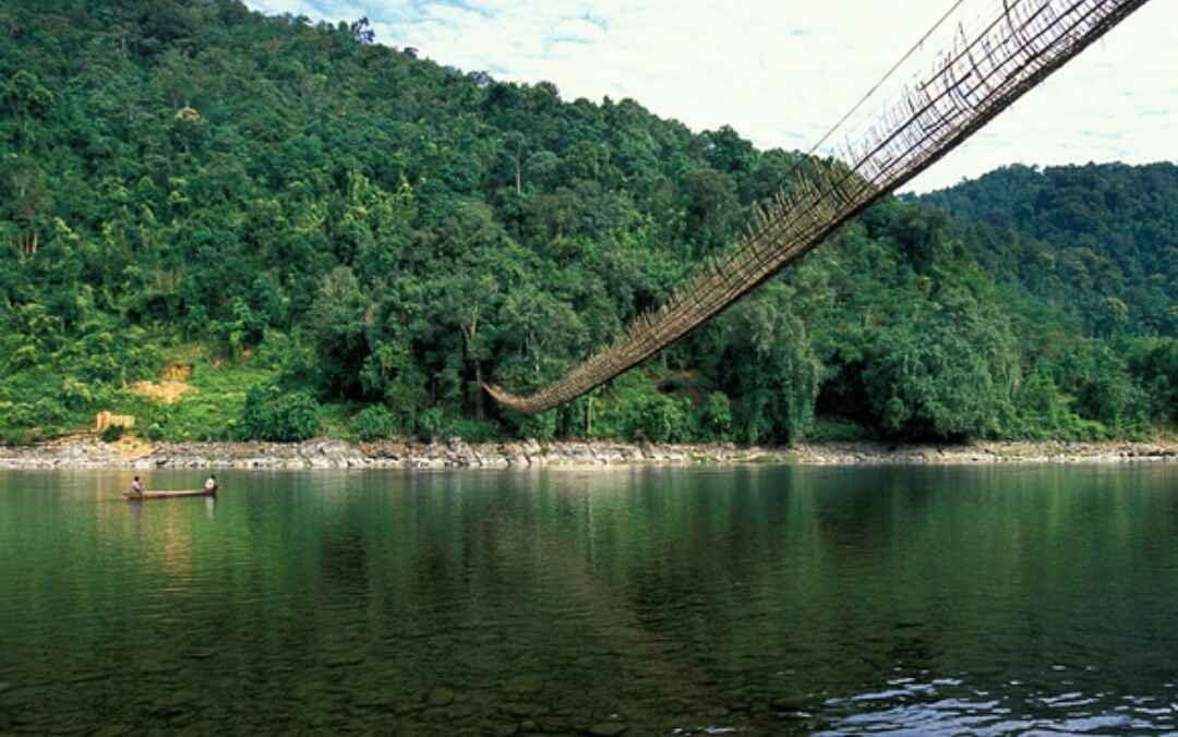 Home to the longest hanging bridge (picture credit: Tripoto)