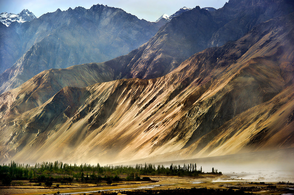 Nubra valley is said to be the place where the sky meets the mountains