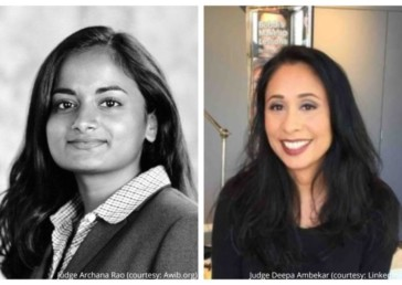 Two Indian-origin women attorneys appointed as judges in NYC