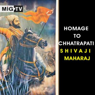 Homage to Chhatrapati Shivaji Maharaj
