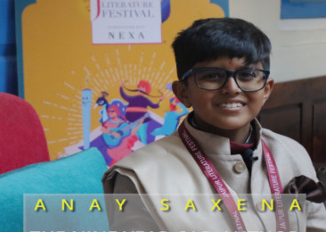 Anay Saxena- the nine year old author