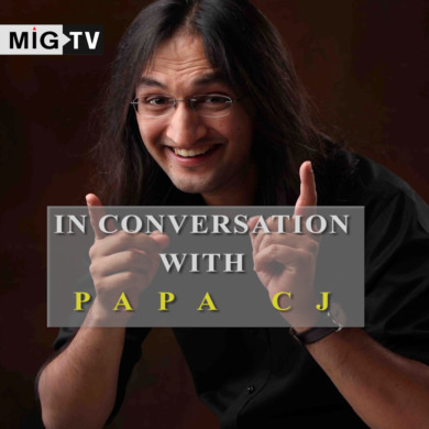 In conversation with PAPA CJ