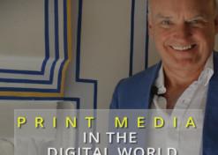 Fate of print media in the digital world