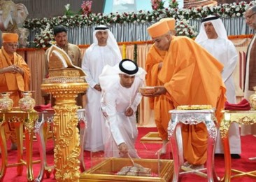 UAE capital gets its first Hindu temple