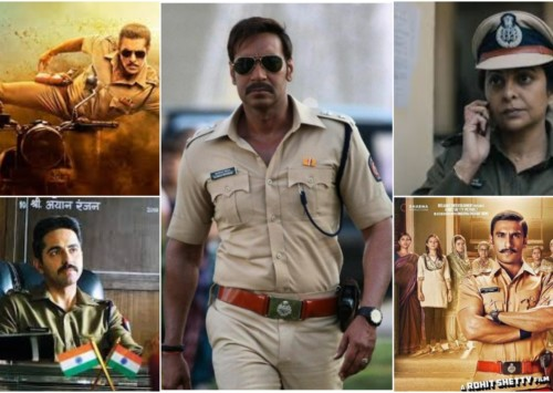 Representation of police in Indian entertainment industry