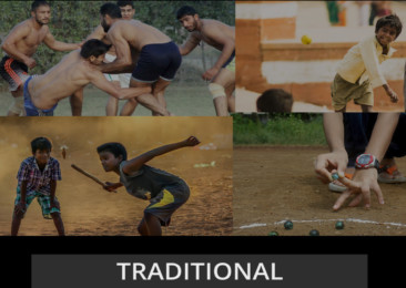 Four traditional Indian games